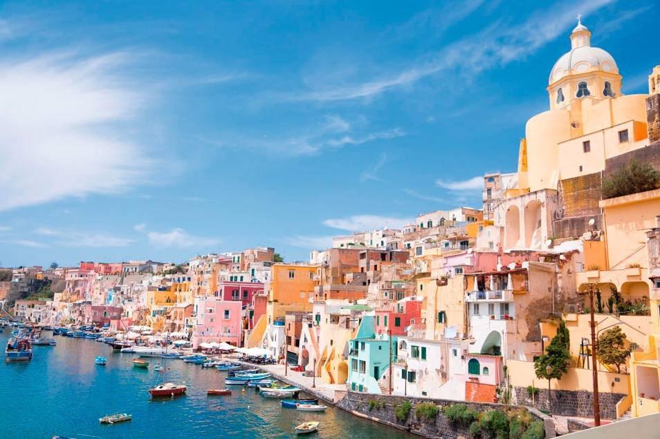 Ischia Naples Italy getaway weekend Mediterranean Sea spring